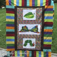 I must have this. I love eric carle and I love quilts!