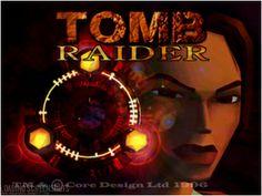 Tomb Raider 1 Menu Screen