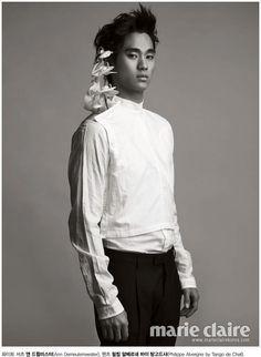 Kim Soo Hyun (김수현) for Marie Claire #3 #KimSooHyun #SooHyun #MarieClaire
