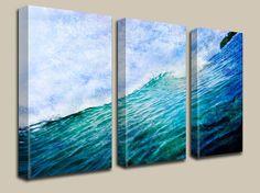 Titel: Naast Me Locatie: Jaco, Costa Rica  Een prachtige abstracte Oceaan van golven, geschikt voor elke leefomgeving, huis, school of een kantoor opvrolijken!  ✦ GALLERY GEWIKKELD doek zijn kwaliteit en scherpe afdrukken op canvas, verzegeld met een UV-coating te versterken en beschermen de archival pigment inkten en voltooid door traditioneel uitgerekt tekstomloop rond een 1,25 houten frame. KLAAR OM TE HANGEN. Hang deze 1-2 uit elkaar.  ✦ GICLEE, MUSEUM kwaliteit PRINTS, voorzien van 1.5…