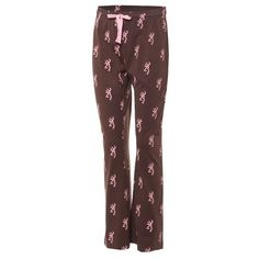 98c68a8e3c Browning Women s Allover Buckmark Lounge Pant Comfy Pants