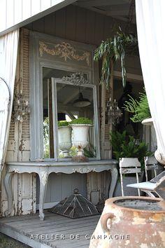 "Our Garden House Porch - Atelier D C:You're giving me a heartproblems!This is fantastic"""""""