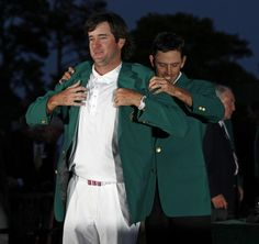 Who will get the green jacket this year?