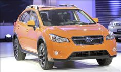 Subaru XV Crosstrek/ The 15 most fuel-efficient all-wheel-drive vehicles