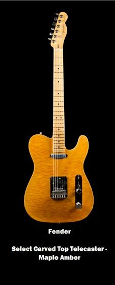 Fender  Select Carved Top Telecaster - Maple Amber.. Check it out at http://rk1719.wix.com/i-spot-gtr   #guitar, #musical instruments