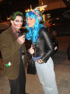 joker vs blue girl