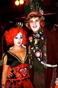 Mad Hatter and Queen of Hearts - 2012 Halloween Costume Contest