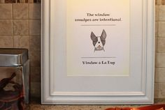 Easy peasy and totally free-sy! -- Free Downloadable DIY Art For Dog Lovers – Part Two