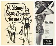 1950s fashion bathing suits illustrations - Google Search