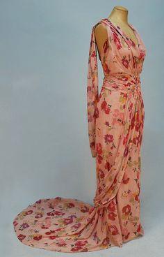 1930s dress via Whitaker Auctions.