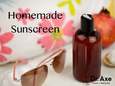 This homemade sunscreen recipe protects your skin from getting burnt and also nourishes and hydrates your skin with essential vitamins and nutrients!