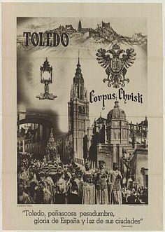 Cartel del Corpus Toledo 1955