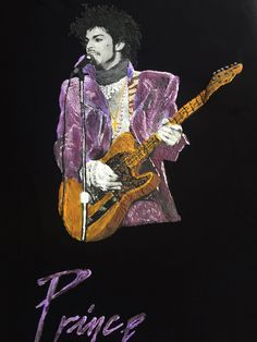 a096be4ea1f466 Prince Tribute T-shirt Art to Wear of His Highness Prince Rogers Nelson