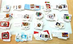 Stamps Vintage and New Christmas Canadian by SouthamptonCreations Postage Stamps, Paper Crafts, Stickers, My Love, Christmas, Etsy, Holidays, Vintage, Products