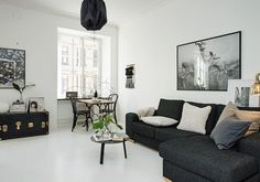 Small Spaces : Challenge of the Week Living Room Decor, Living Spaces, Living Rooms, Home Decor Lights, Pretty Room, Fashion Mode, Lounge Areas, Simple House, Cozy House