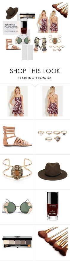 """Untitled #48"" by theresagrace on Polyvore featuring Forever 21, Oris, Spitfire, Chanel and Bobbi Brown Cosmetics"