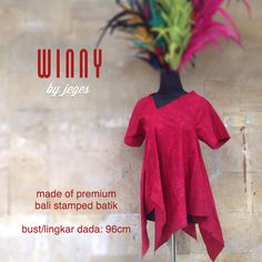 WINNY blouse by #jeges made of cotton Bali stamped batik with asymetric cut  available at www.facebook.com/jeges.nusantara or contact us @ #0811882996  #jeges #indonesia #ethnic #fashion #batik