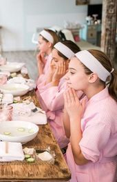 This DIY Tween Spa Party Would Make Even a Grown Woman JealousYou can find Pamper party and more on our website.This DIY Tween Spa Party Would Make Even a Grown Woman Je. Diy Spa Birthday Party, Spa Day Party, Girl Spa Party, Sleepover Birthday Parties, Girl Sleepover, Pj Party, Birthday Party For Teens, Teen Birthday, 11th Birthday