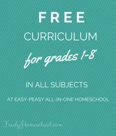 Here is a completely free curriculum - with daily lessons! - for elementary aged homeschoolers. It was created by a homeschooling mom for her own kids. Use it by grade level, through placement, or by subjects. #homeschool