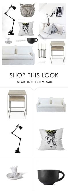 """""""#1182"""" by bellamarie ❤ liked on Polyvore featuring interior, interiors, interior design, home, home decor, interior decorating, French Connection, Moss Studio, Zara Home and Imm Living"""