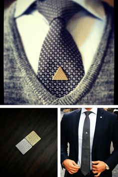 Magnetic Tie Clips with Dashing Style. Perfect for Gifts, Weddings, & Stylish Men.