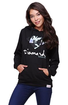 Diamond Supply Co Pullover Fleece Hoodie