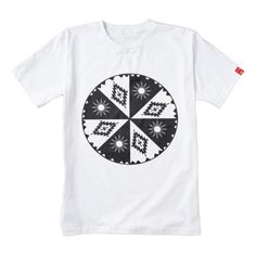 Shop Aztec Sun and Diamond Black and White Zazzle HEART T-Shirt created by FalconsEye. Personalize it with photos & text or purchase as is! Aztec T Shirts, Special Needs Kids, Sun, Black And White, Diamond, Heart, Fabric, Mens Tops, How To Wear