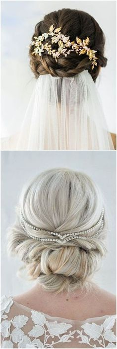 Wedding Hairstyles » Hair Comes the Bride – 20 Bridal Hair Accessories Get Style Advice for Any Budget ❤️ See more: http://www.weddinginclude.com/2017/03/hair-comes-the-bride-bridal-hair-accessories-get-style-advice-for-any-budget/ #weddingcrowns #weddinghairaccessories #weddingadvice #weddinghairstyles