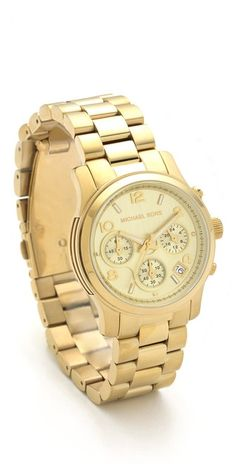 Michael Kors Sport Watch - I will get this to celebrate the new job!  :)