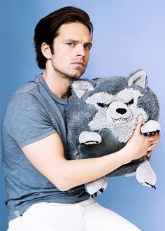 Sebastian Stan photographed by Jon Premosch for Buzzfeed