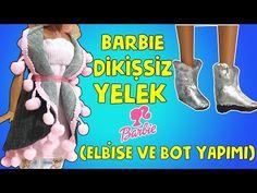 Barbie Kolay Dikişsiz Giysi ve Ayakkabı Yapımı - DIY - Kendin Yap Barbie Giysileri - Bidünya Oyuncak - YouTube