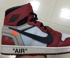 OFF WHITE Air Jordan 1