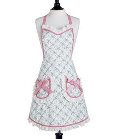Take a look at this Bella Bows Audrey Bib Apron - Women by Jessie Steele on #zulily today!