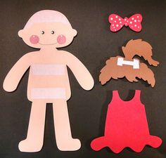 Wooden Doll with Changeable Clothes by CreativeLaserArt4U on Etsy