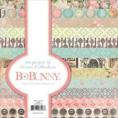 "Bo Bunny ""Soiree"" 6"" x 6"" Paper Pad *NEW*"