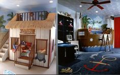 Funny and amazing kids rooms
