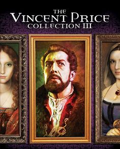 Scream Factory: THE VINCENT PRICE COLLECTION III Artwork Reveal and Pre-Order Link