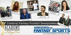CBSSPORTS.COM LAUNCHES CELEBRITY FANTASY FOOTBALL SWEEPSTAKES BENEFITTING ACM LIFTING LIVES