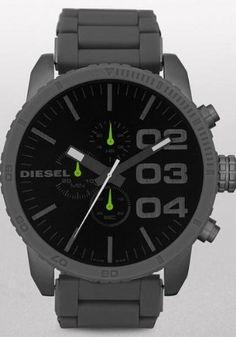 Diesel Men's DZ4254 Advanced Gunmetal