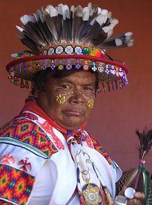 Huichol Shaman (San Andrés Cohamiata)