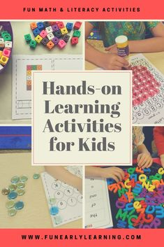 503 Best Fun Early Learning Activities Images In 2019