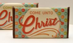 Free candy bar wrapper....end of year gift/seminary graduation gift idea