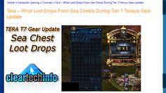 Tera Tier 7 Tensus Update – 74 Sea Chests are Opened. See What Loot Drops