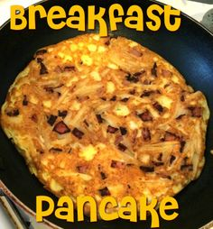 First Time Mom and Losing It: Breakfast in a Pancake #Toddler Friendly #Recipe