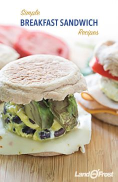 Breakfast sandwich flavor combinations are endless. Whether you're the classic sausage, egg and cheese person or favor a bacon and egg sandwich, a few extra ingredients go a long way to boost flavor. Think about adding fresh vegetables like tomatoes, spinach or avocado to your sandwiches to make the perfect breakfast snack.