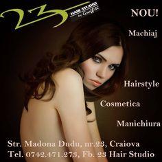 OlteniaBizz - 23 HAIR STUDIO Hair Studio, Hairstyle, Movies, Movie Posters, Hair Job, Films, Hair Style, Film Poster, Popcorn Posters