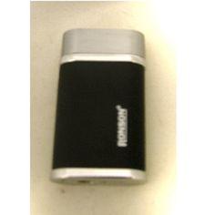Ronson Lantern black matte gas lighter - Ronson - Gift Lighters