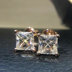 a7fde4eaa Cheap earrings for, Buy Quality earrings for women directly from China earrings  earring Suppliers: Genuine 585 Rose Gold Screw Back ctw Test Positive ...