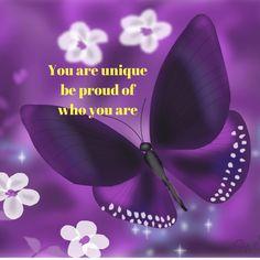 You are unique | My Friend Caroline #beproud #youareunique