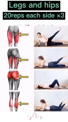 Body Weight Leg Workout, Small Waist Workout, Full Body Gym Workout, Gym Workout Tips, Fitness Workout For Women, Butt Workout, Easy Workouts, Workout Videos, Slim Waist Workout